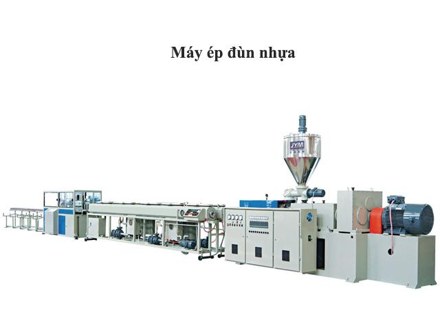 Dây chuyền máy dùng phương pháp ép đùn nhựa