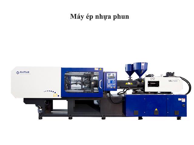 Máy dùng cho phương pháp ép nhựa phun
