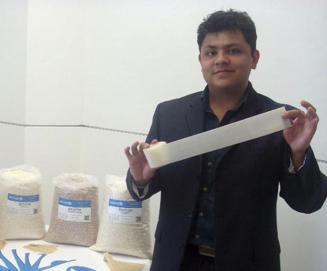 Scott và phát minh đồ dùng một lần từ bơ thay thế sản phẩm nhựa