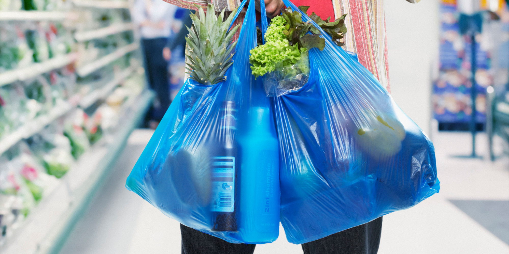 túi nhựa dùng để đi chợ