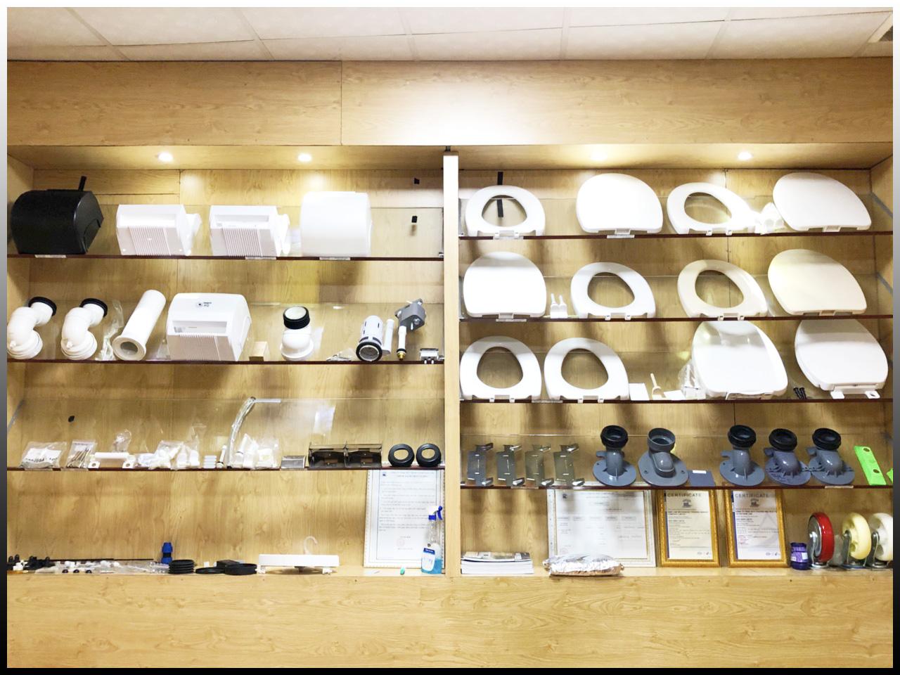 Sản phẩm gia công ép nhựa công ty nhựa Nam Lâm