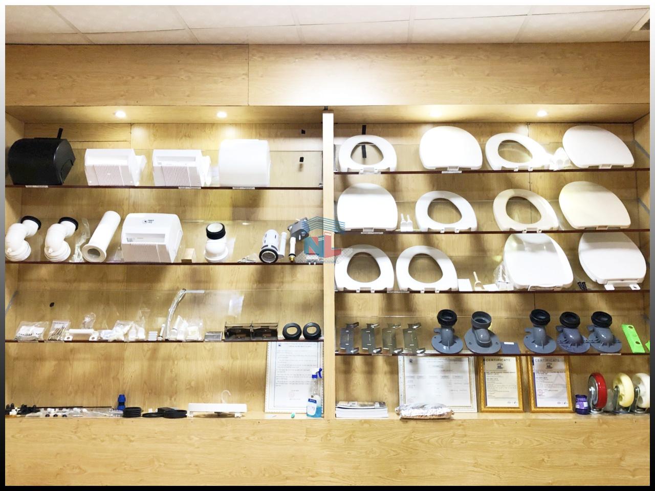 Sản phẩm nhựa do công ty Nam Lâm gia công sản xuất