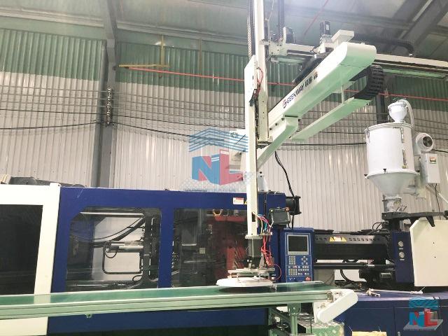 Dây chuyền gia công sản xuất đồ nhựa hiện đại tại Nam Lâm