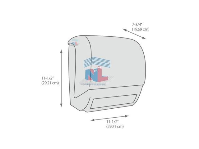 kích thước hộp cắt giấy tự động cuộn lớn NL468A