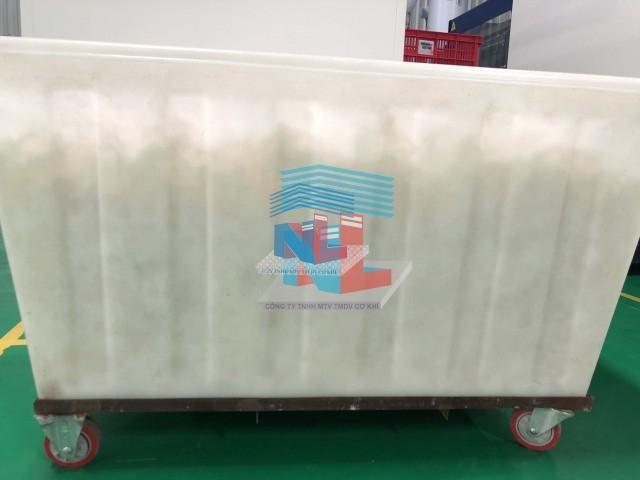 cung cấp thùng nhựa đựng vải công nghiệp nhiều kích cỡ