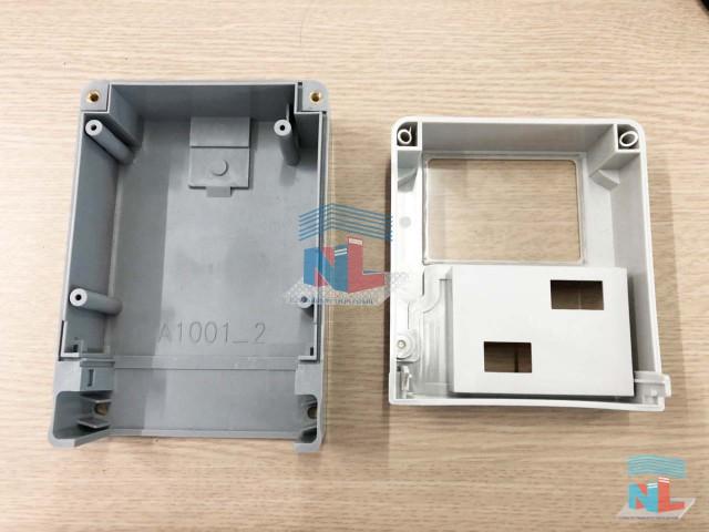 Gia công hộp nhựa linh kiện điện