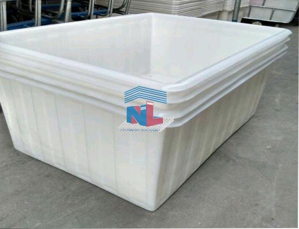 thùng nhựa đựng vải nhuộm dệt công nghiệp