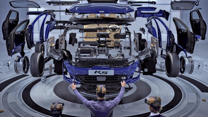 Ứng dụng nhựa trong ngành sản xuất xe hơi